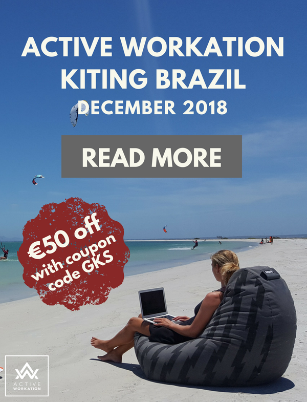 Active Workation Brazil Trip Ad. €50 off with coupon code GKS