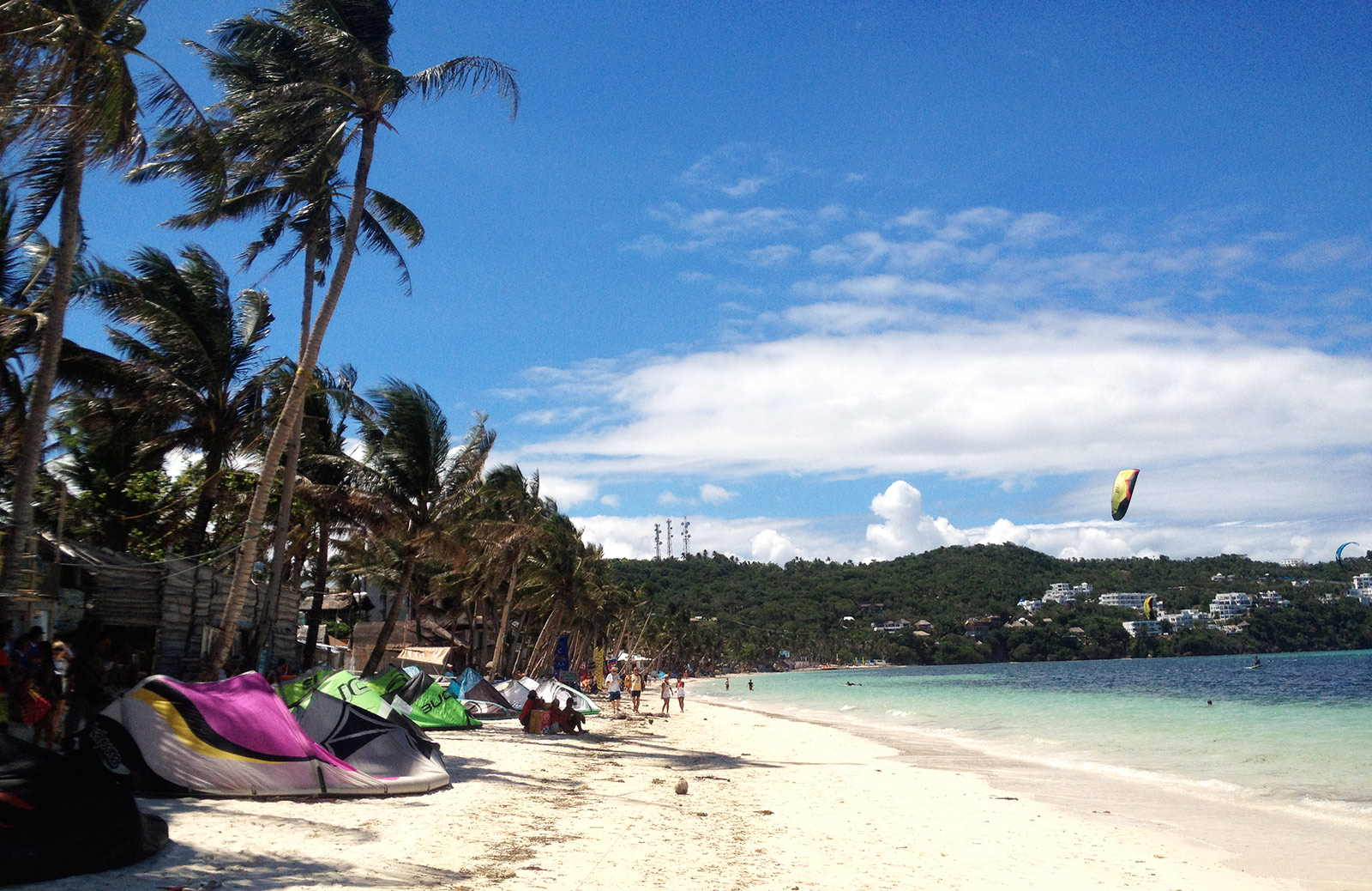 Kitesurf accommodation on Boracay
