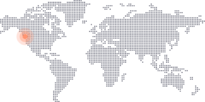 Vancouver on world map