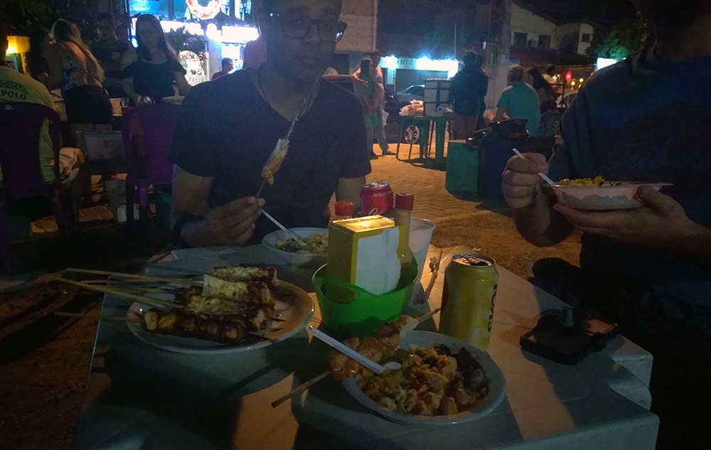 Street food in Cumbuco