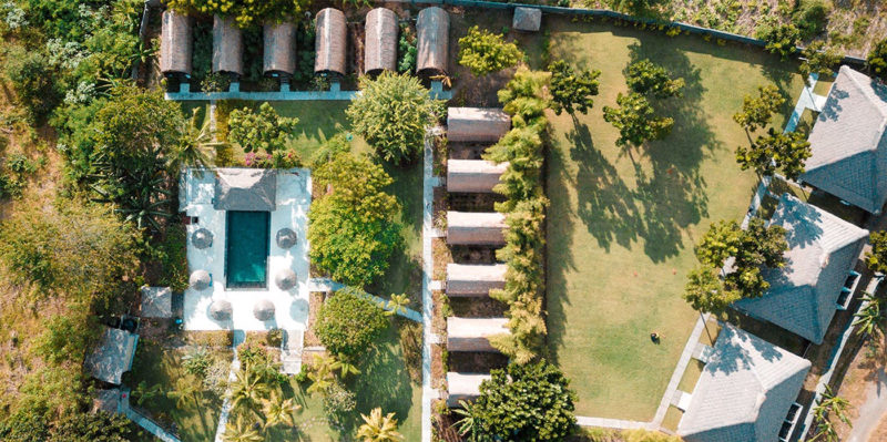Bird's eye view of Skas Breaks Resort
