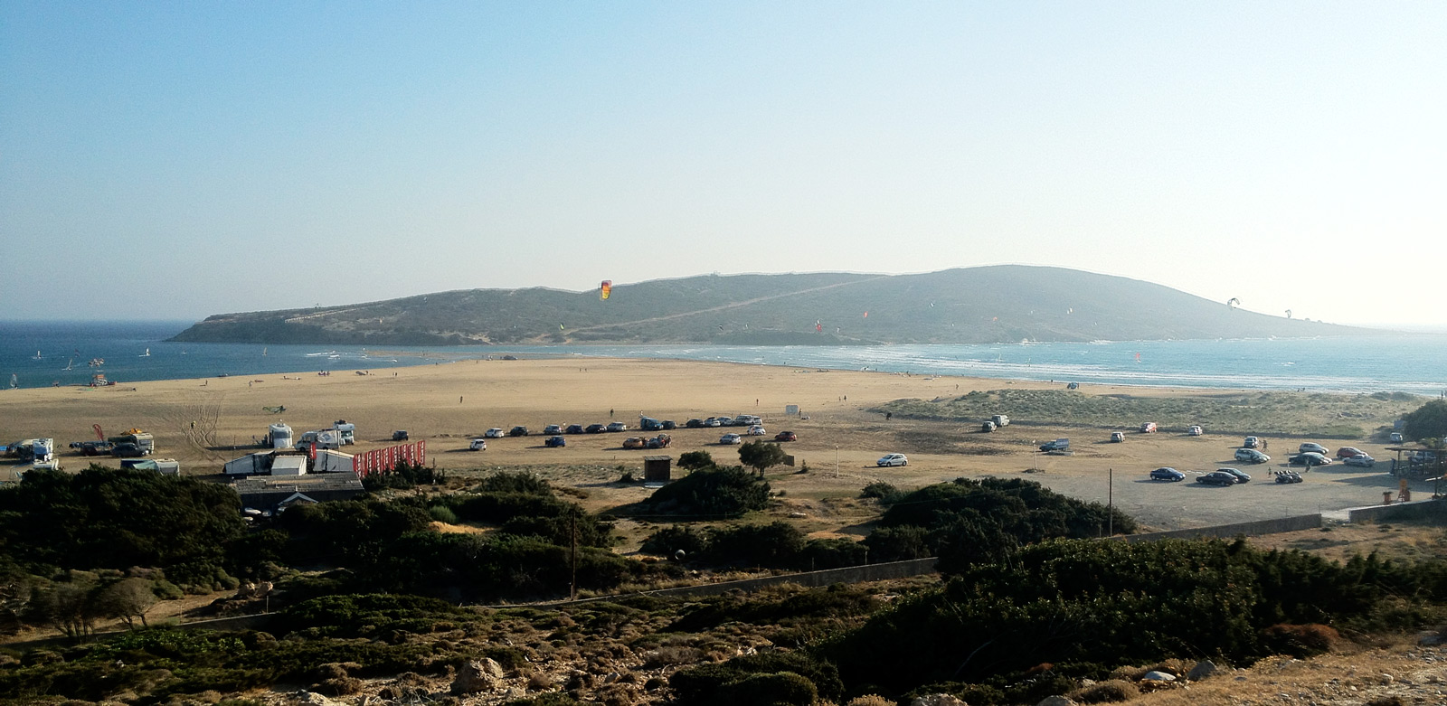Prasonisi kite spot