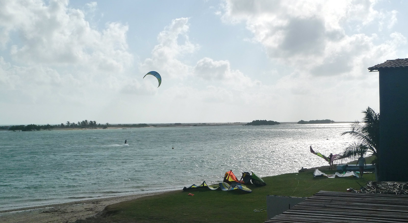 Kitesurf accommodation at Ilha do Guajiru