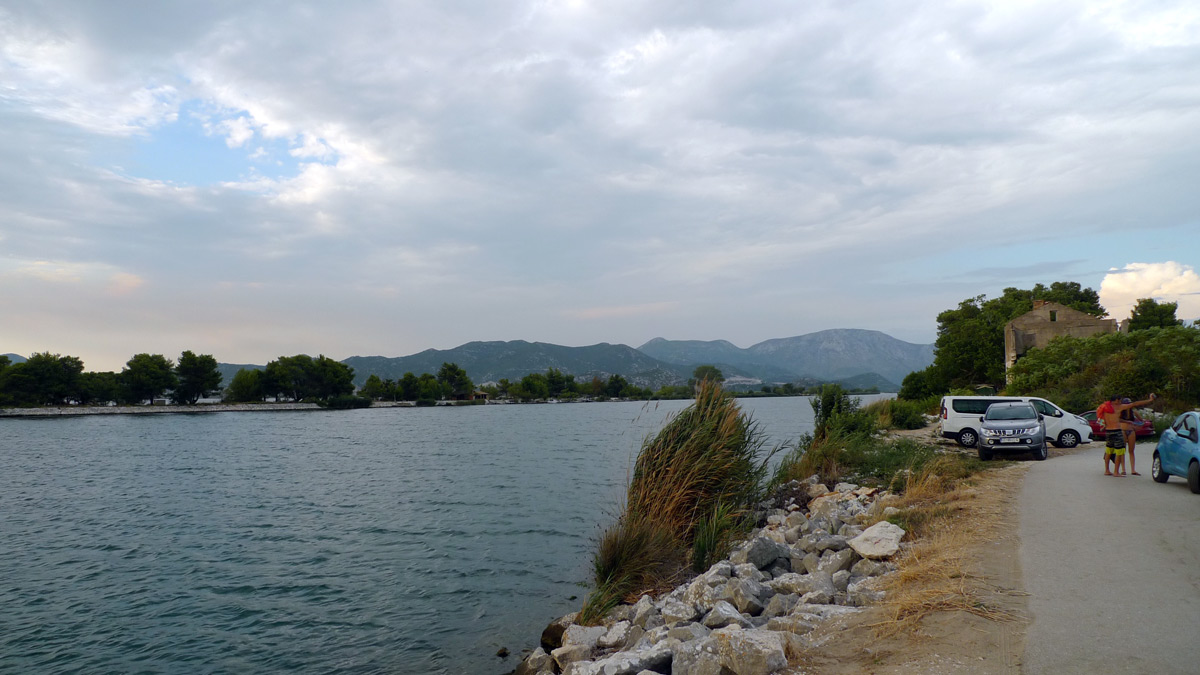 The river Neretva kitesurf spot