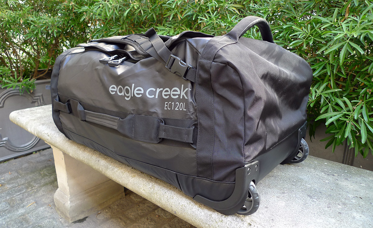 Eagle Creek Cargo Hauler Roller Duffel 120l from behind