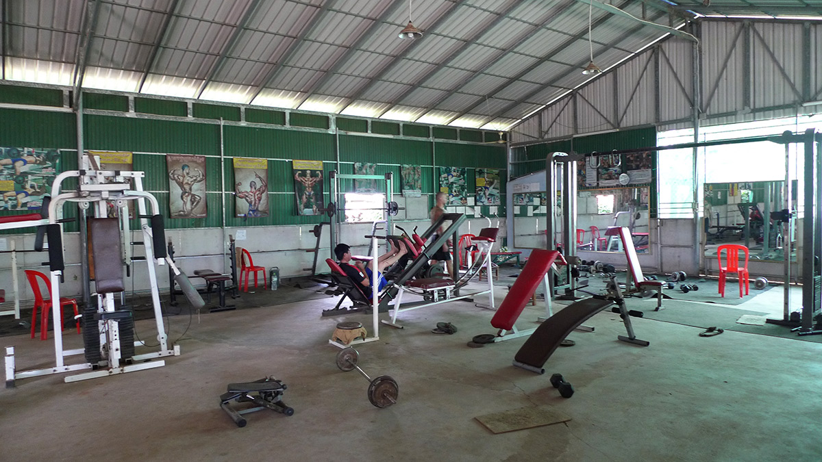 Gym in kampot