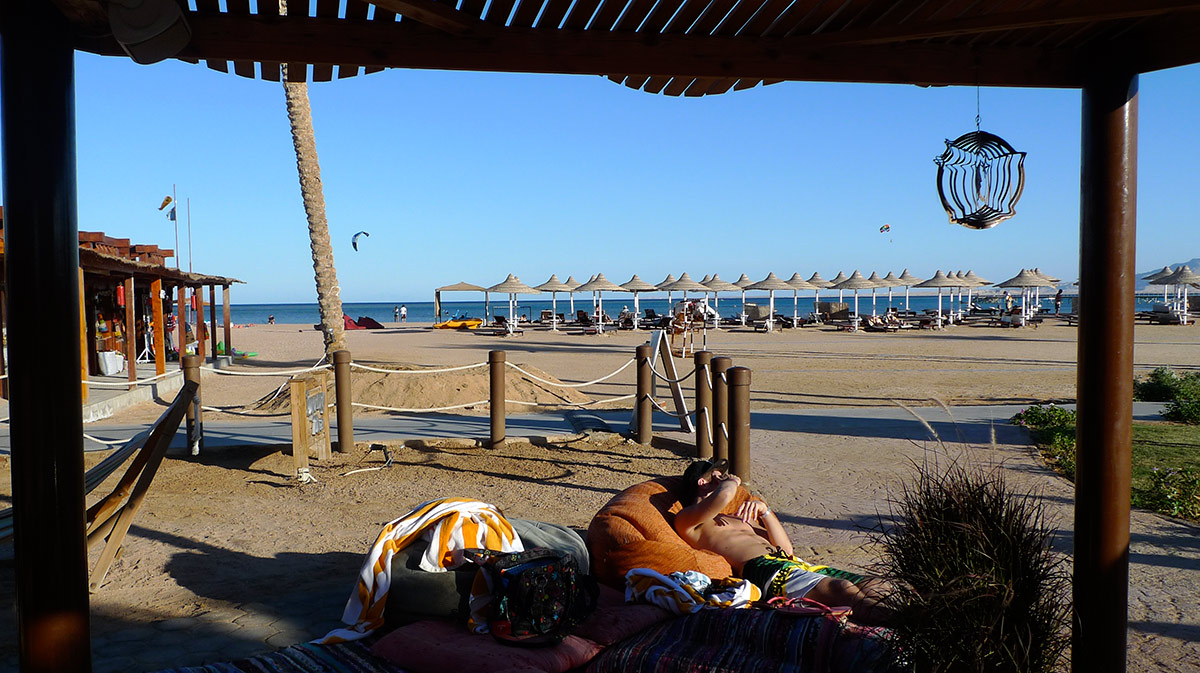 Kitesurf accommodation in Sharm el Sheikh.