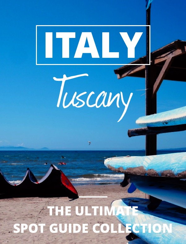 Read the Tuscany kite spot guide