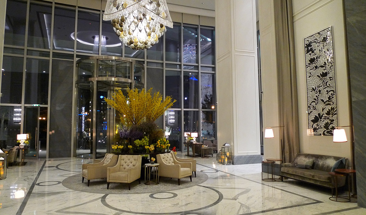 Address hotel lobby