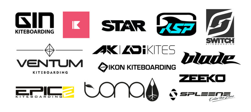Logo collage of affordable kite brands