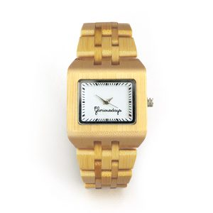 Bambijou bamboo watch