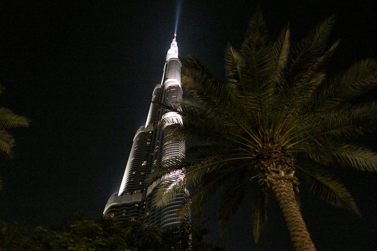Bugs view of Burj Khalifa