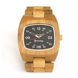 Catalina bamboo watch