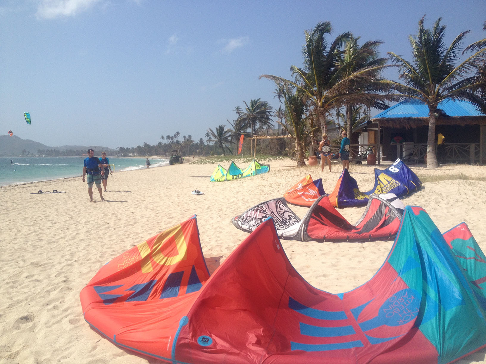 coconut bay kitesurf center in St Lucia
