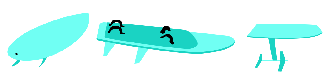 directional kitesurf boards