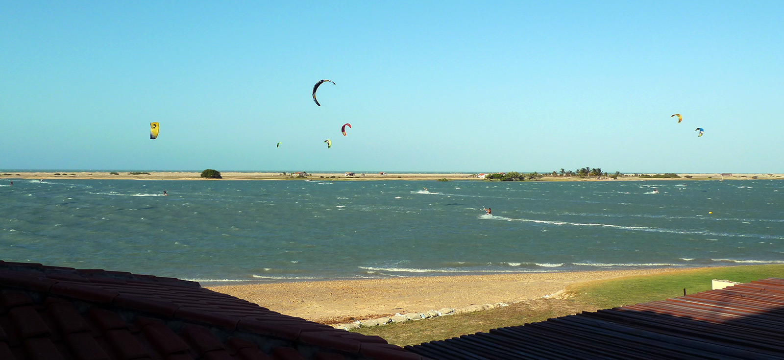 Ilha do Guajiru kite lagoon
