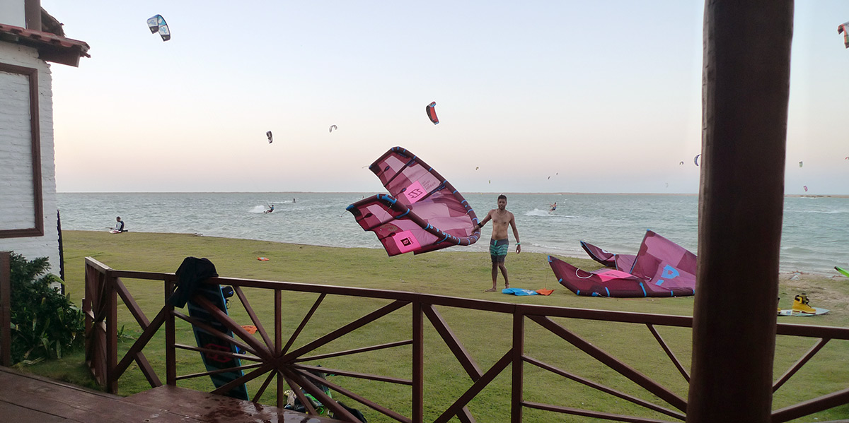 Ilha do Guajiru kite spot
