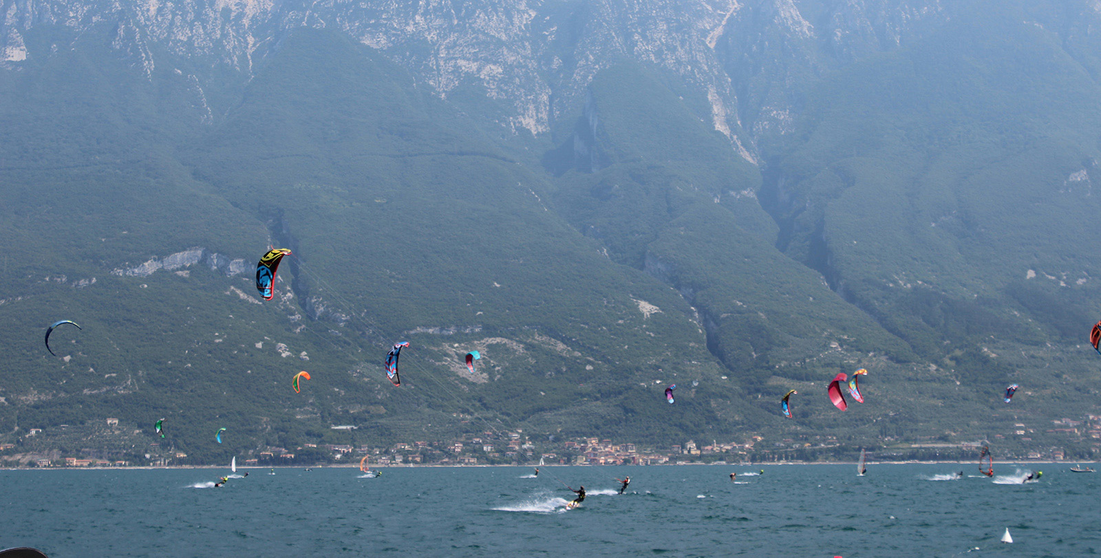 lake garda kiting