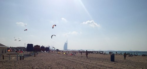 persian gulf kite beach by Krista